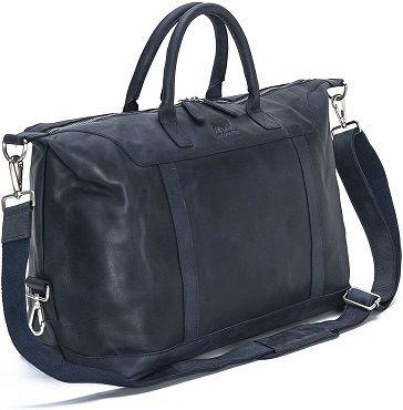 Solo Pelle – Premium Reisetasche in mitternachtsblau für 129€ (statt 299€)