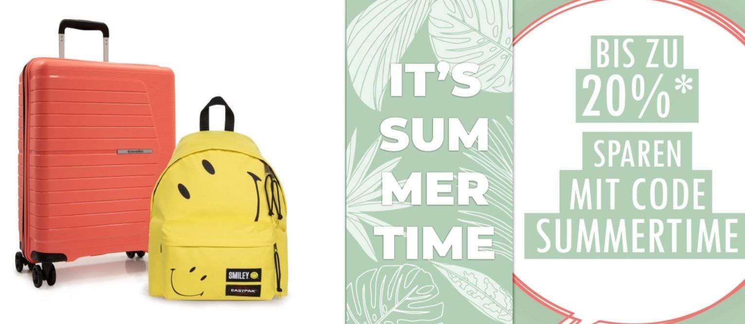 Koffer Direkt Sommer Sale mit 20% extra Rabatt + 5% bei Vorkasse