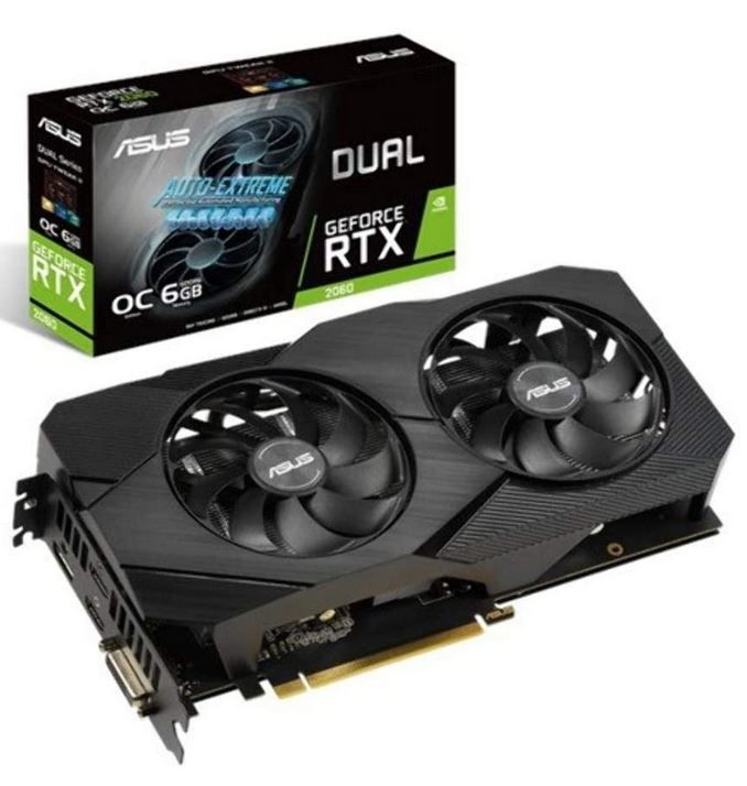 ASUS GeForce RTX 2060 Dual Evo OC 6GB Grafikkarte für 380,99€ (statt 550€) + gratis Mousepad