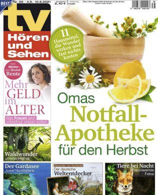 26 Ausgaben TV Hören & Sehen für 65€ + Prämie: 65€ Amazon Gutschein