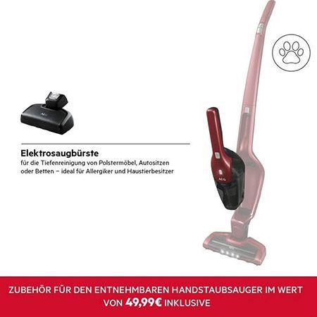 AEG Ergorapido CX7 2 45AN 2in1 Akku Staubsauger für 134,99€ (statt 171€)