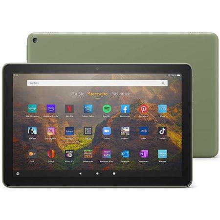 Amazon Fire HD 10-Tablet 10,1 Zoll – 32 GB – Full HD in Olivgrün für 79,99€ (statt 134€)