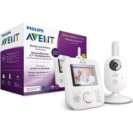 Philips AVENT SCD833/26 Video-Babyphone für 115,19€ (statt 142€)