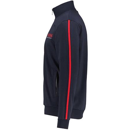 BOSS Herren Loungewear Sweatjacke Authentic Jacket Z in Marine für 57,72€ (statt 90€)   M & L