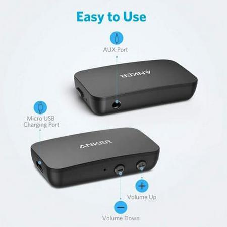 Anker Soundsync Bluetooth Empfänger für Musik mit Bluetooth 5.0 für 27,19€ (statt 32€)
