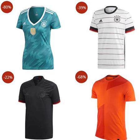 Super Fanartikel Sale bei Sportdeal24. z.B. adidas DFB Auswärtstrikot ab 15,99€