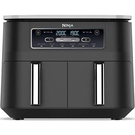 Ninja AF300EU   Foodi Heißluft Fritteuse mit 2 Frittierfächern für 125,99€ (statt 145€)