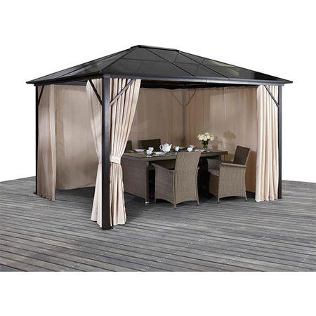 KONIFERA Pavillon – Aruba – 300×300 cm für 494,99€ (statt 580€)