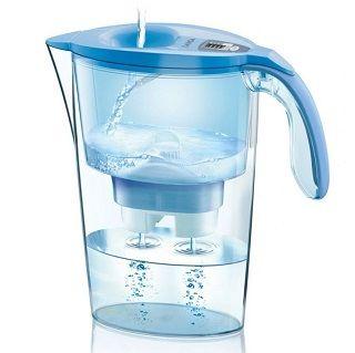 LAICA Wasserfilter Serie 3000 Steam Line J434H Lavendel/ Blue für 9,99€ (statt 21€)