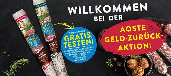 Salami von Aoste gratis ausprobieren