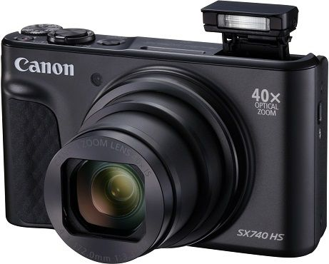 CANON PowerShot SX740 HS Digitalkamera mit 40fach opt. Zoom für 267€ (statt 311€)