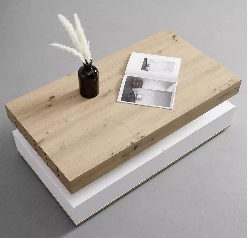 Bessagi Home Cara – 110cmx60cm Couchtisch für 175,30€ (statt 249€)
