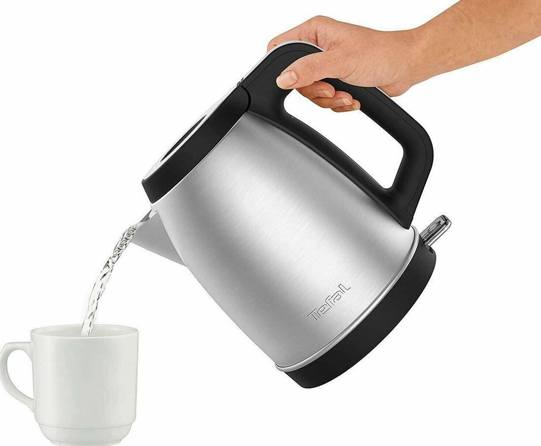 Tefal KI282D10 Edelstahl Wasserkocher 1,7L 2.400W für 24,99€ (statt 30€)