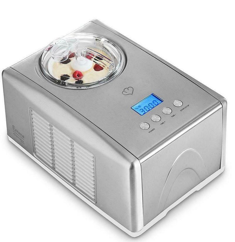 Emma Eismaschine mit Kompressor 1,5 Liter für 149,99€ (statt neu 239€) – wie neu