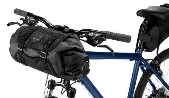 3er Set Fahrradtasche für den Lenker, Rahmen und Sattel für 29,99€