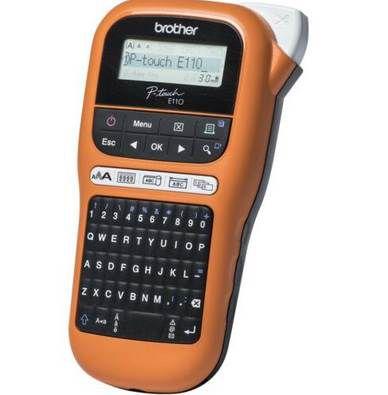 Brother P Touch PT E110 Beschriftungsgerät ab 20,99€ (statt 32€)