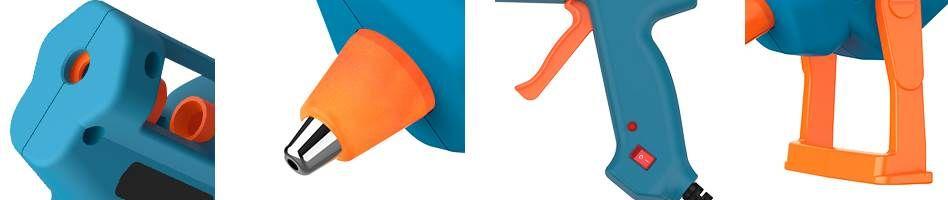 Tilswall 60W Heißluftkleber inkl. 60 Klebesticks für 13,99€ (statt 20€)   Prime