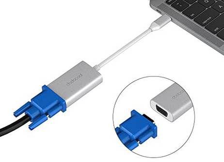 dodocool USB Typ C Adapter auf VGA für 6,49€   Prime