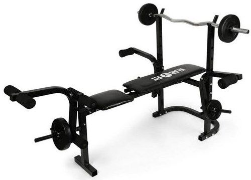 KLARFIT Hantelbank »Workout Hero« für 119,99€ (statt 124€)