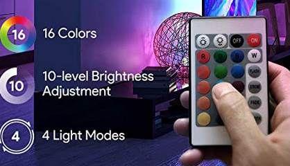TECKIN 5m LED Streifen Selbstklebend mit Fernbedienung & Netzteil für 7,99€ (statt 14€)   Prime