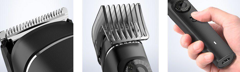 tomight 6in1 Haarschneider mit viel Zubehör für 10,79€ (statt 22€)   Prime