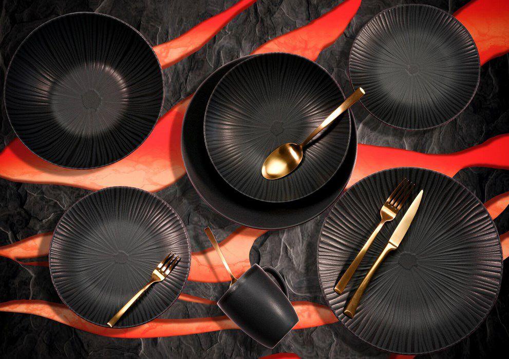 CreaTable VESUVIO ELEMENTS Collection Geschirrset 12 tlg für 34,73€ (statt 48€)