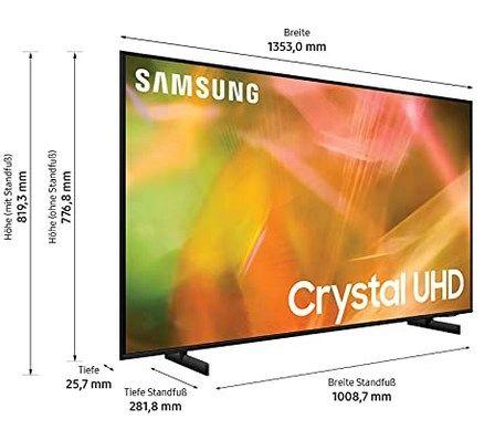 Samsung 60 Zoll TV (GU AU8079U) für 599€ (statt 818€)