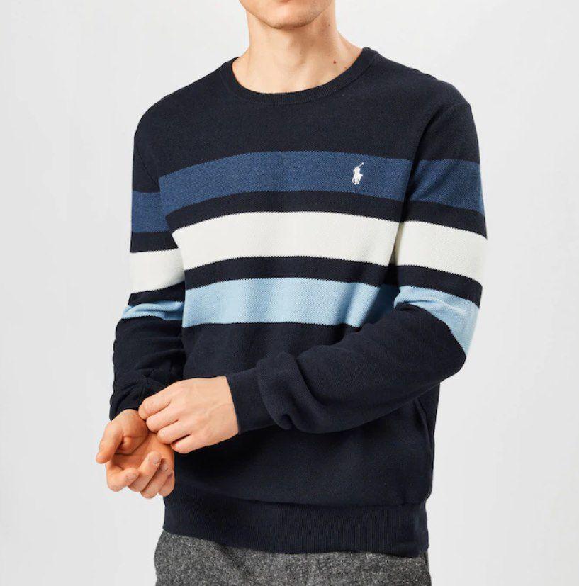 Polo Ralph Lauren Sweatshirt in Navy / Schwarz für 56,94€ (statt 95€)