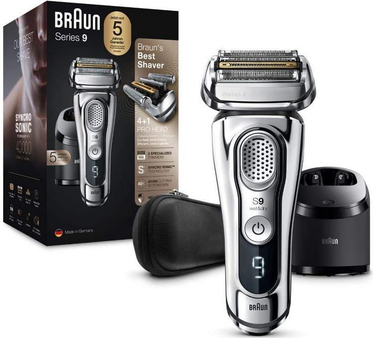 Braun Series 9 Premium Rasierer mit 4+1 Scherkopf für 229,99€ (statt 285€)
