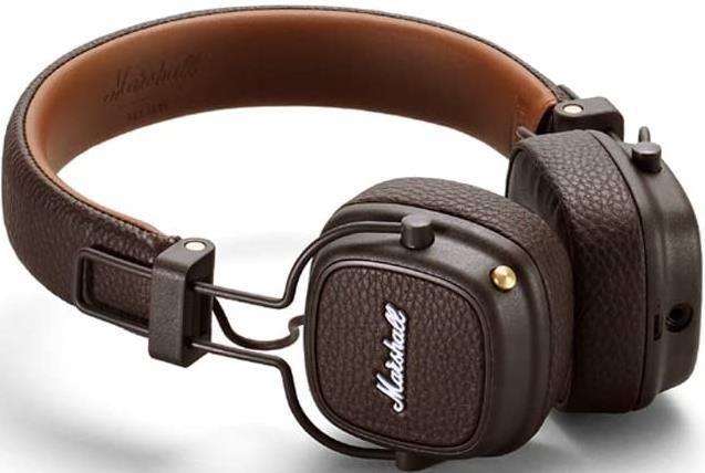Marshall Major III Faltbarer Kopfhörer mit Bluetooth in braun für 64,59€ (statt 90€)