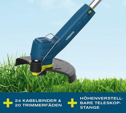 Hoberg Flex Rasentrimmer mit integriertem Akku (18 W) für 32,99€ (statt 40€)