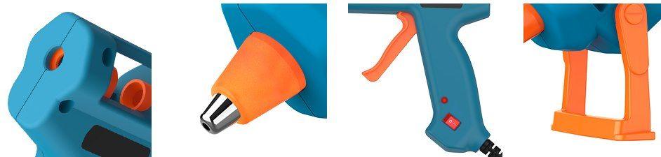 Tilswall Heißklebepistole (50W) mit 75 Klebesticks für 8,79€ (statt 15€)