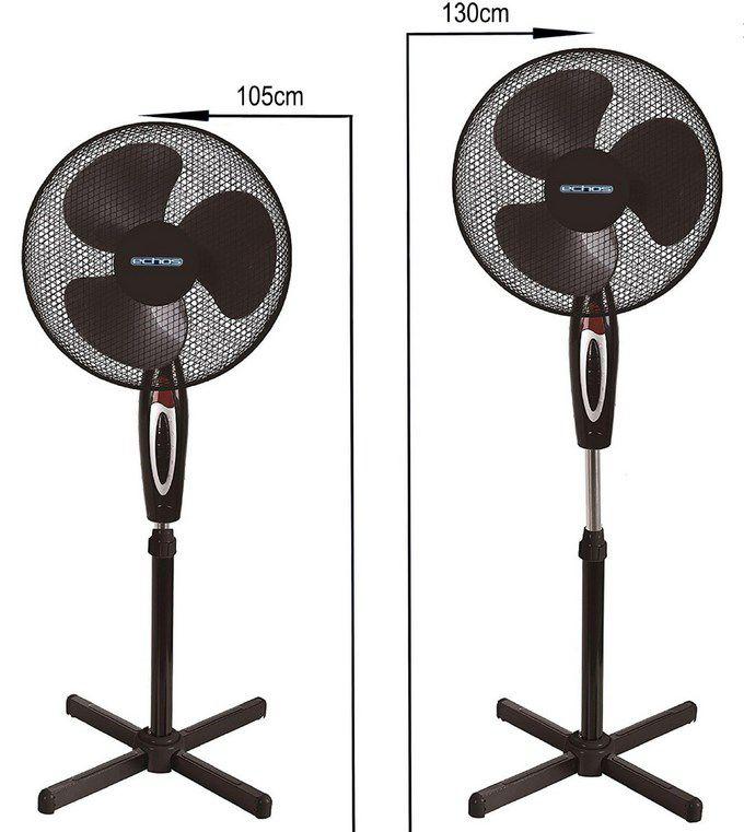 Echos Standventilator Ø 41 cm 40 Watt für 17,99€ (statt 25€)
