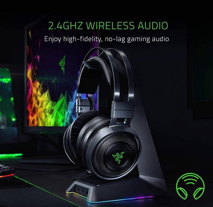 Razer Nari Ultimate – Wireless Gaming Headset für 114,94€ (statt 134€)