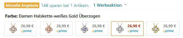 Alex Perry Damenhalskette der Satelliten Serie in 5 Farben für je 12,98€ (statt 27€)   Prime