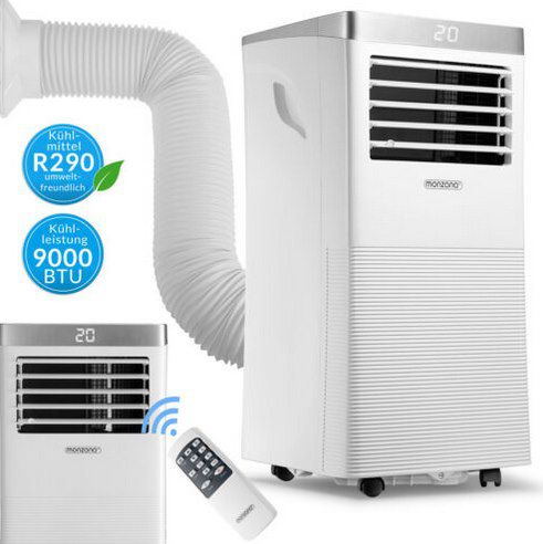 Monzana Klimaanlage MZKA1000 mit Abluftschlauch & App-Steuerung für 249,95€ (statt 290€)
