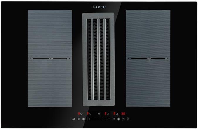 Klarstein Full House Down Air System (Induktionsfeld + Dunstabzugshaube) für 699,99€ (statt 747€)