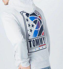Tommy Jeans Sweatjacke Herren in Hellgrau für 39,90€ (statt 70€)