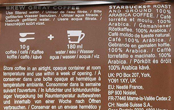 6x 200g Starbucks House Blend Filterkaffee für 17,99€ (statt 24€)   MHD 18.06.
