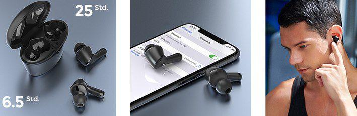 HolyHigh ET3 BT 5.0 TWS InEar Kopfhörer für 9,99€ (statt 26€)