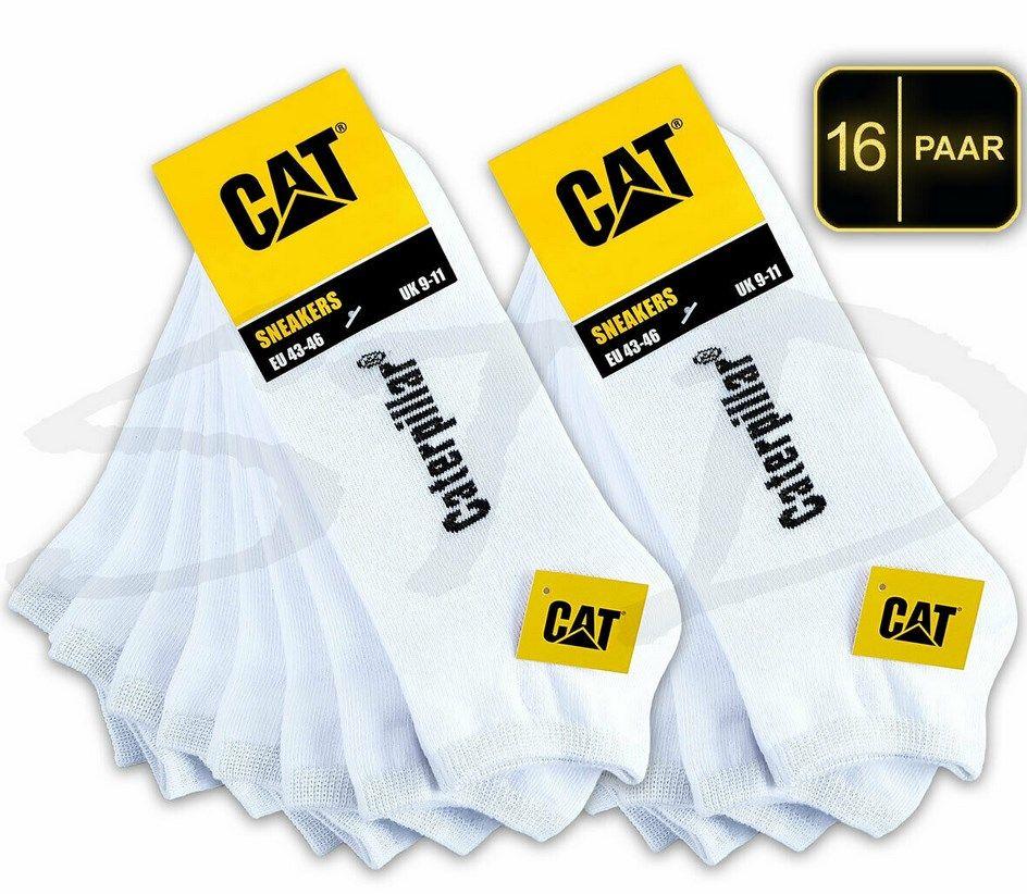 16 Paar CAT Caterpillar Sneaker Socken für 28,70€