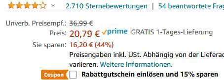 EIVOTOR Kondensatormikrofon mit 3,5mm inkl. Ständer für 14,55€ (statt 21€)   Prime
