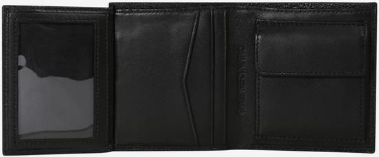 Calvin Klein Jeans   Trifold Geldbörse in schwarz für 27,90€ (statt 47€)