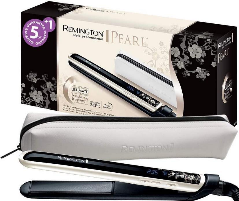 Remington S9500 Glätteisen   Pearl   für 21,99 (statt 30€)