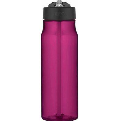 2x THERMOS Tritan 770ml Trinkflasche mit Trinkhalm in Magenta für 9,98€ (statt 23€)