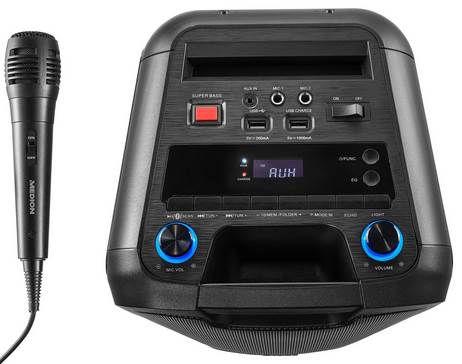 Medion P67038 Soundsystem mit Bluetooth & Mikrofon für 99,99€ (statt 124€)
