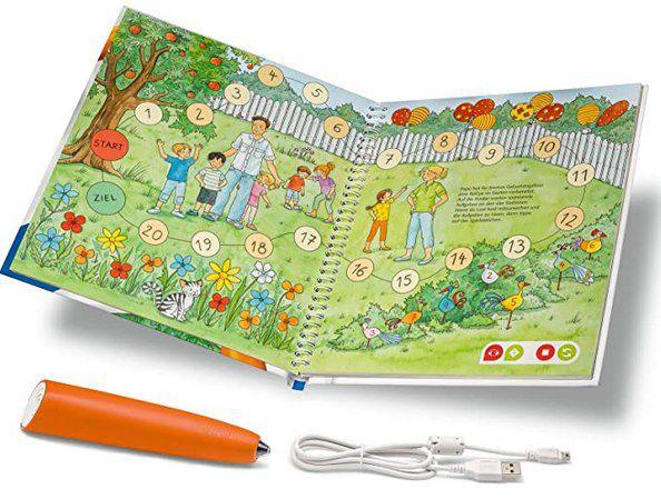 Ravensburger tiptoi Starter Set mit Stift & Erste Zahlen Buch für 29,99€ (statt 40€)