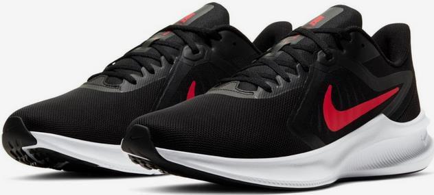 NIKE Laufschuh Downshifter 10 in rot / schwarz für 29,94€ (statt 53€)