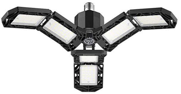 Lijun LED Werkstatt  & Garagenlampe (E27) mit 120W für 9€ (statt 30€)