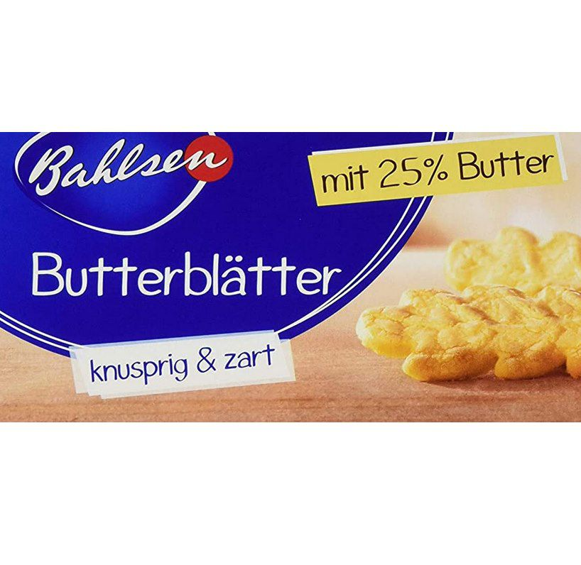 12x 125g Bahlsen Butterblätter für 15,99€ (statt 24€)